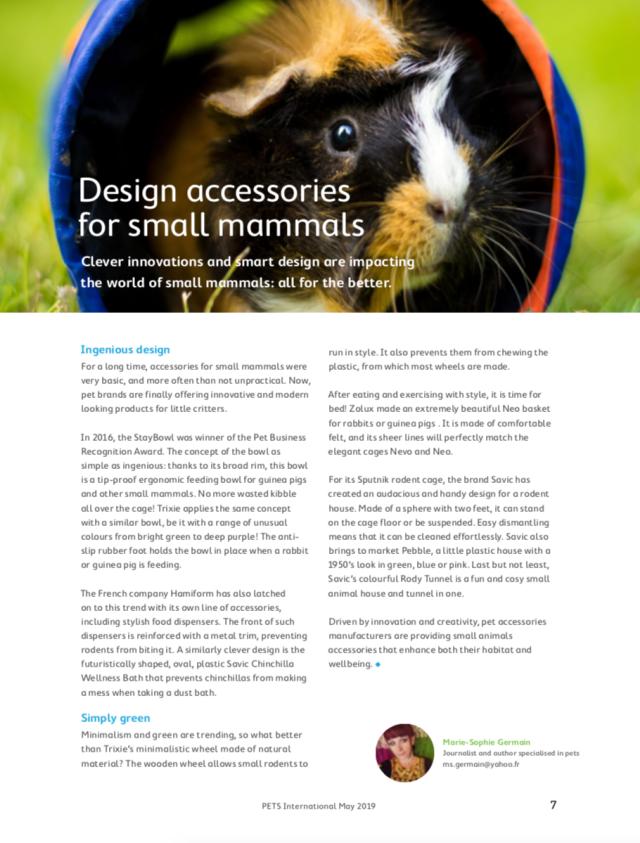 Design small pets
