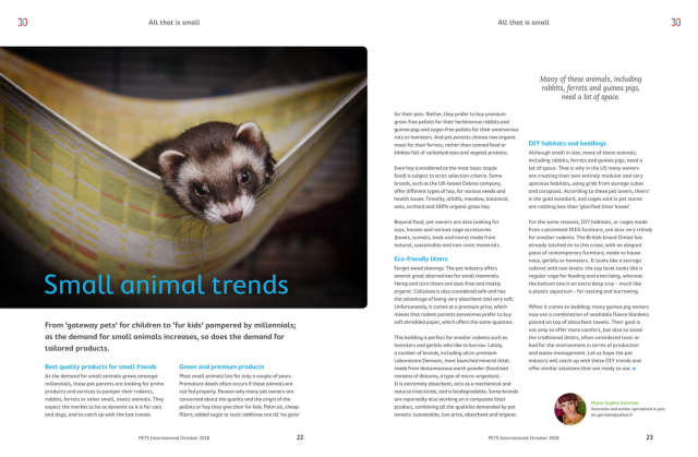 Small animal trends - GlobalPets october 2018